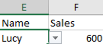 VLOOKUP with Dropdown List 2