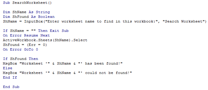 Search and Locate Worksheet 1