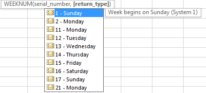 Calculate Weekly Average 5