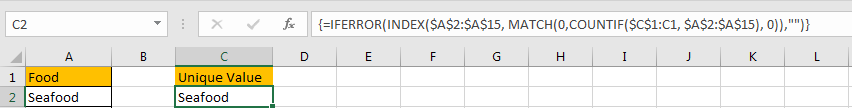 Dynamically Extract Unique Values3