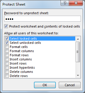 Lock Cell Height and Width 5