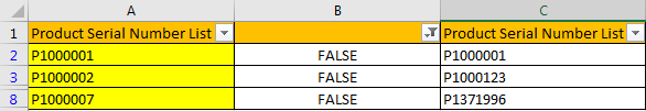 Compare Two Columns and Highlight Duplicate Values 10