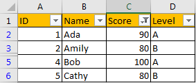 Create Filter on Same Column but Multiple Worksheets 9