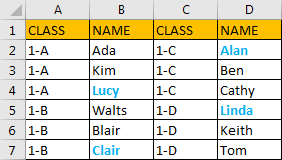 Select All Cells Whose Are in The Same Format 1