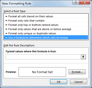 How to Apply Conditional Formatting across Workbook 5