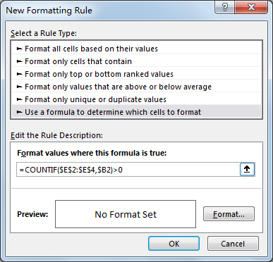 How to Apply Conditional Formatting across Workbook 6