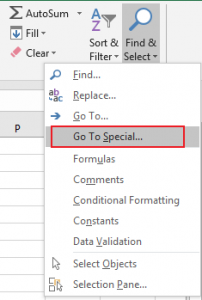 How to Delete Entire Rows if Blank Cell Exists in Excel2