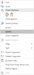 How to Delete Entire Rows if Blank Cell Exists in Excel6