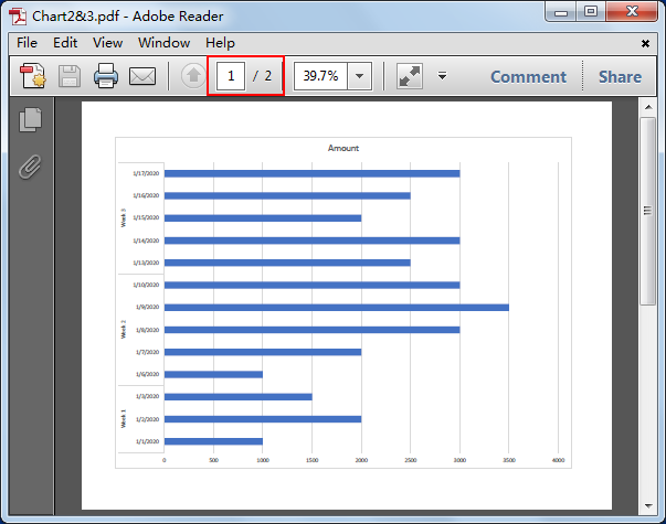 How to Export Chart as PDF 14