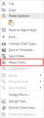 How to Export Chart as PDF 2