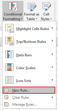 How to Highlight Cell Which Its Adjacent Cell Value Equals to or GreaterLess Than It 2