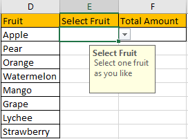 How to Sum Values Based on Selection of Drop-Down List 10