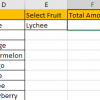 How to Sum Values Based on Selection of Drop-Down List 14