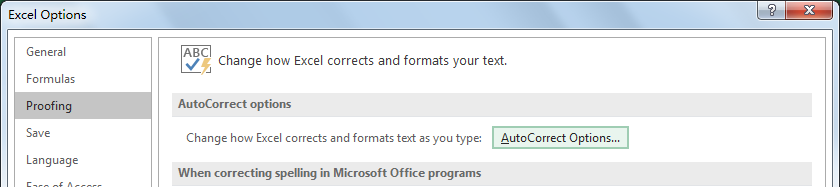 How to Turn Off AutoCorrect Feature in Excel3