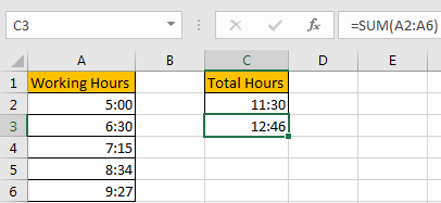 How to Add Times Over 24 Hours 2
