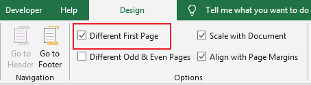How to add header or footer on pages 4