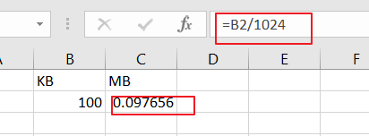 convert kb mb unit1