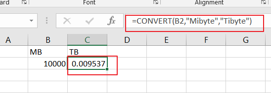 convert kb mb unit5
