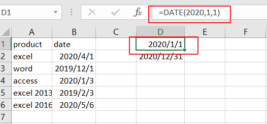 count cells between dates formula2
