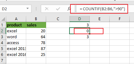 count cells between two numbers4