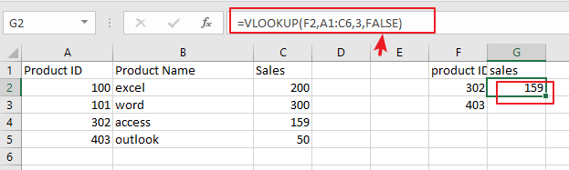 use vlookup for approximate or exact match1