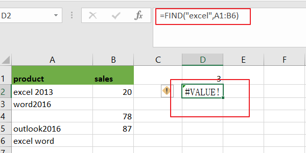 count cell that contain x or y2