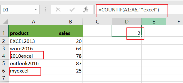 count cells that begin with certain string2