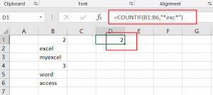 count cells that contain specific text1