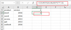 count number of cells that contain certain characters2