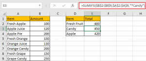 Sum Data if Begins with 10