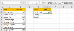 Sum Data if Begins with 3