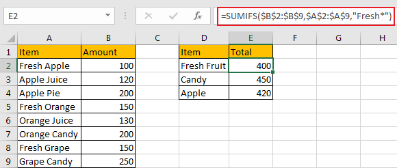 Sum Data if Begins with 9