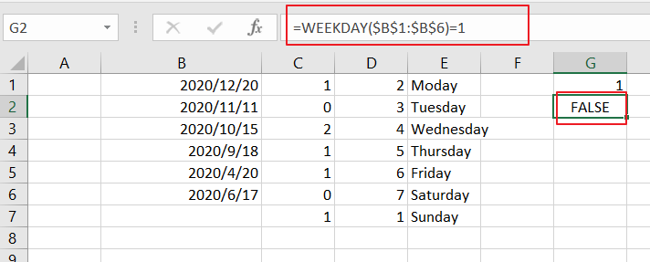 count dates by days of week4