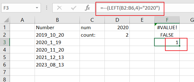 count numbers that begin with6