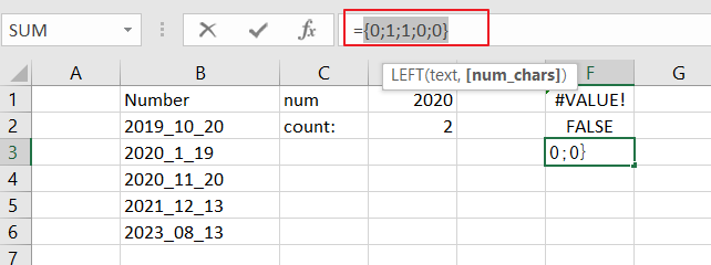 count numbers that begin with7