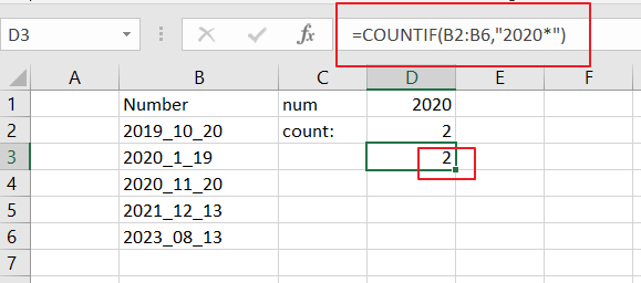 count numbers that begin with8