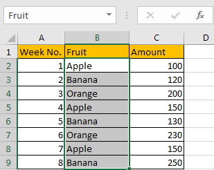 How to Sum Numbers by Formula if Cells Equal to A Certain Value 2