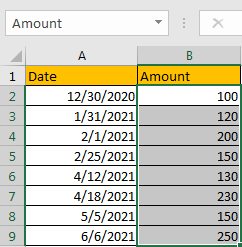 How to Sum by Formula if Cell Between Two Dates 3