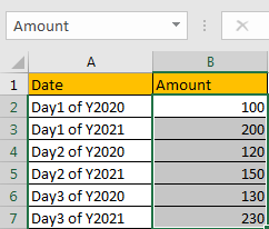 How to Sum by Formula if Cell Ends with in Excel3