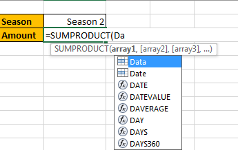 How to Sum by SUMPRDUCT with One Specific Criteria Multiple Columns in Excel5