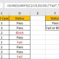 How to Sum with Criteria and Or Logic in Excel 8