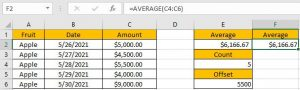 How to Average the Last N Values 10