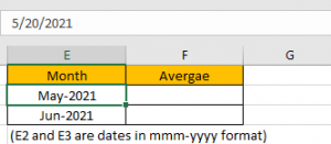 How to Calculate Average by Month 2