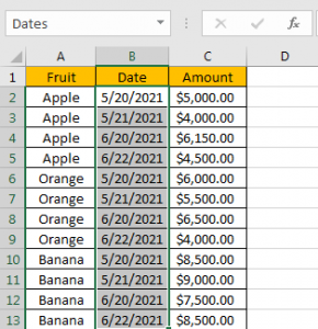 How to Calculate Average by Month 3